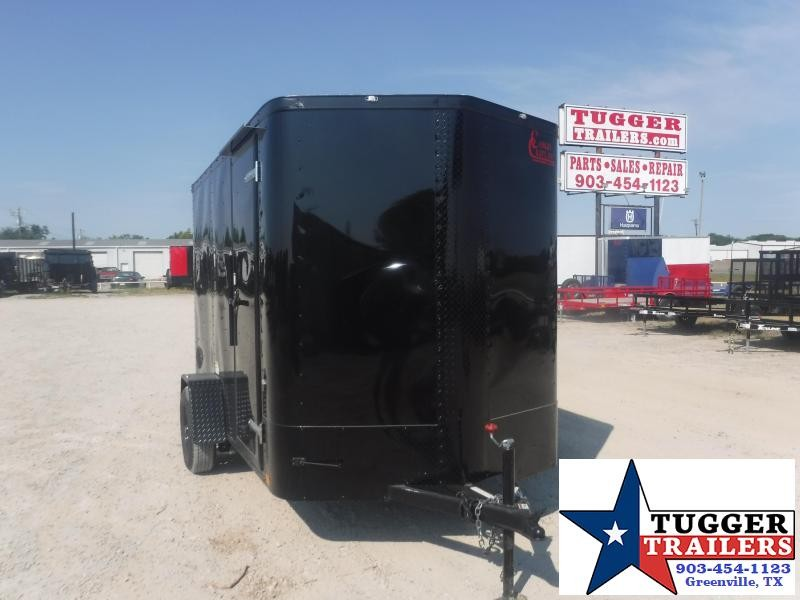 6X10 10Ft Blackout Ramp New Cargo Enclosed Toy Tailgate Work Moving Trailer