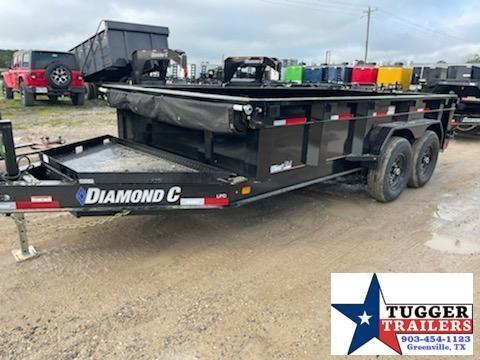 2021 Diamond C Trailers 82x14 Dump Trailer