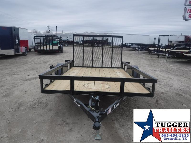 2021 TexLine 77x12 12ft Open Toy Work Tool Farm Bike Move Utility Trailer