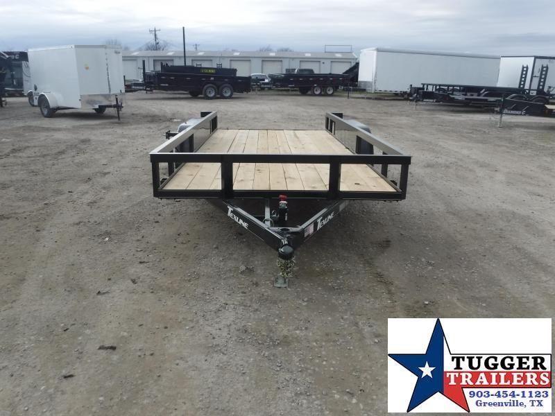 2021 TexLine 77x16 16ft Toy Side Farm Four Hunt Camp Move Work Utility Trailer