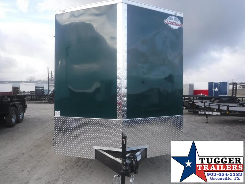 2021 Cargo Mate 7x16 16ft Utility Toy Side Hunt Camp Tailgate Enclosed Cargo Trailer