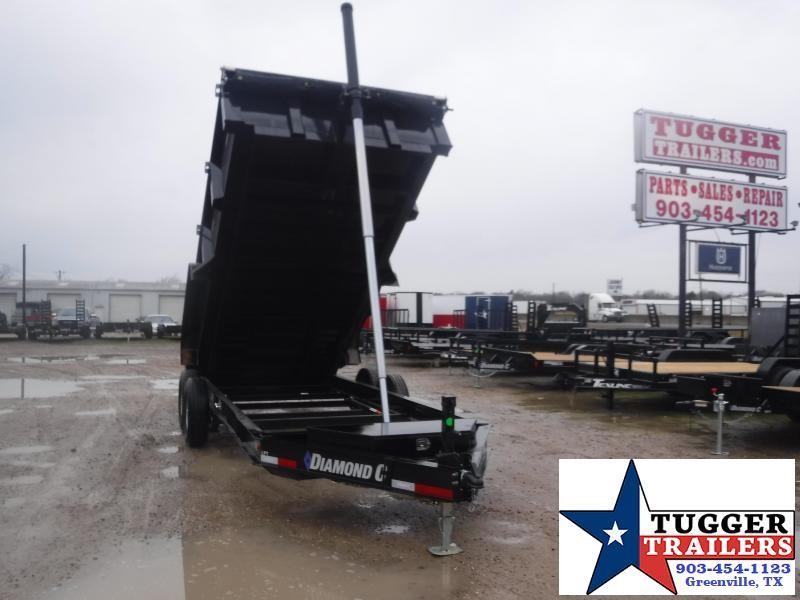 2021 Diamond C Trailers 82x16 16ft LPT Steel Heavy Duty Farm Work Equip Dump Trailer