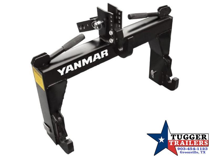 Yanmar (by Woods Equipment) Tractor 3-Point Quick-Hitch Adapter Model TQH1