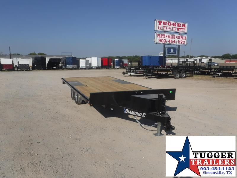 2020 Diamond C Trailers 102x18 18ft Deck Over Flatbed Utility Farm Work Equipment Trailer