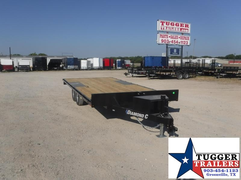 2020 Diamond C Trailers 102x18 18ft Deck Over Flatbed Utility Farm Work Equipment Trailer