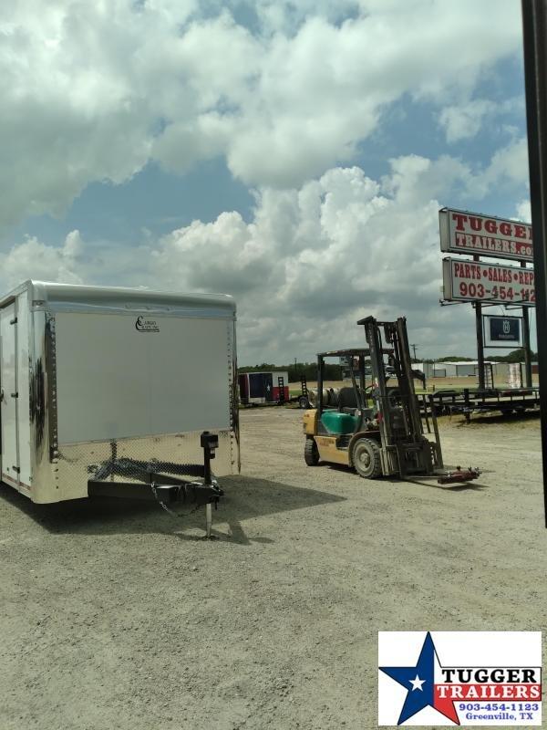 2020 Cargo Craft 8.5x28 28ft Spread Axle Cargo Enclosed Auto Car / Racing Trailer