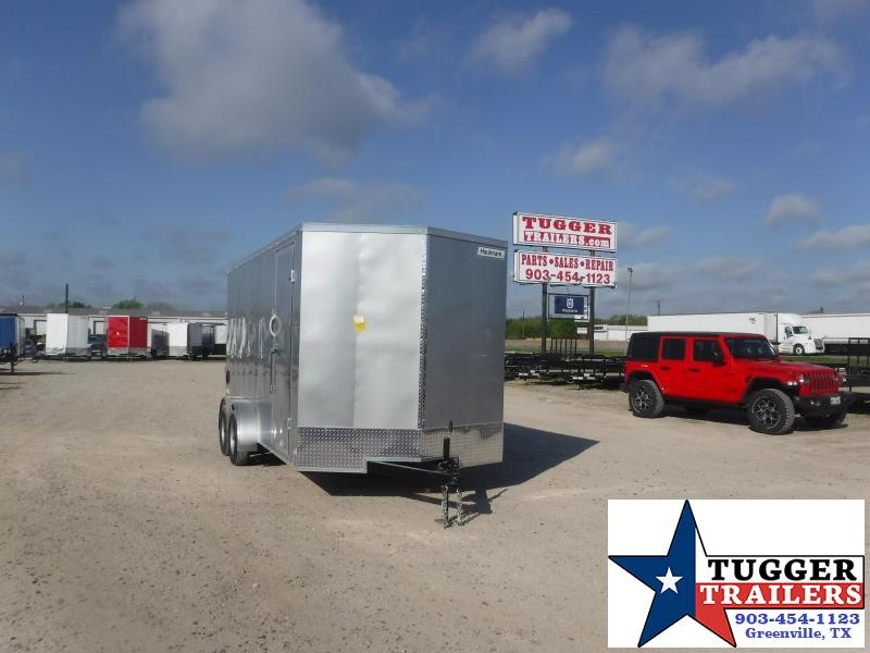 2021 Haulmark 7x16 16ft Toy Work Tool Utility Hunt Landscape Enclosed Cargo Trailer
