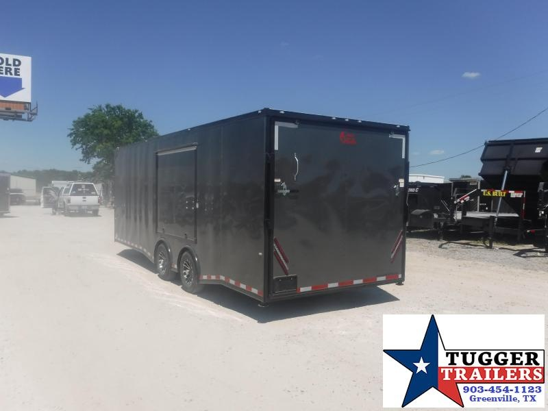2020 Cargo Craft 8.5x24 24ft Auto Spread Mobile Classic Black Out Car / Racing Trailer