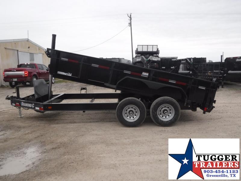 2021 Diamond C Trailers 82x14 14ft LPT Steel Heavy Duty Work Rock Farm Dump Trailer