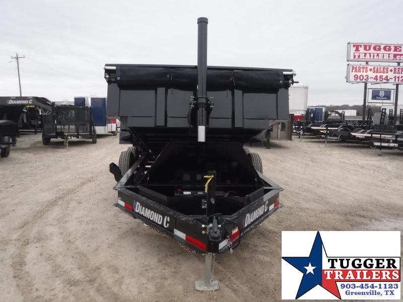 2021 Diamond C Trailers 82x14 14ft LPT Steel Heavy Duty Work Rock Farm Dump Trailer