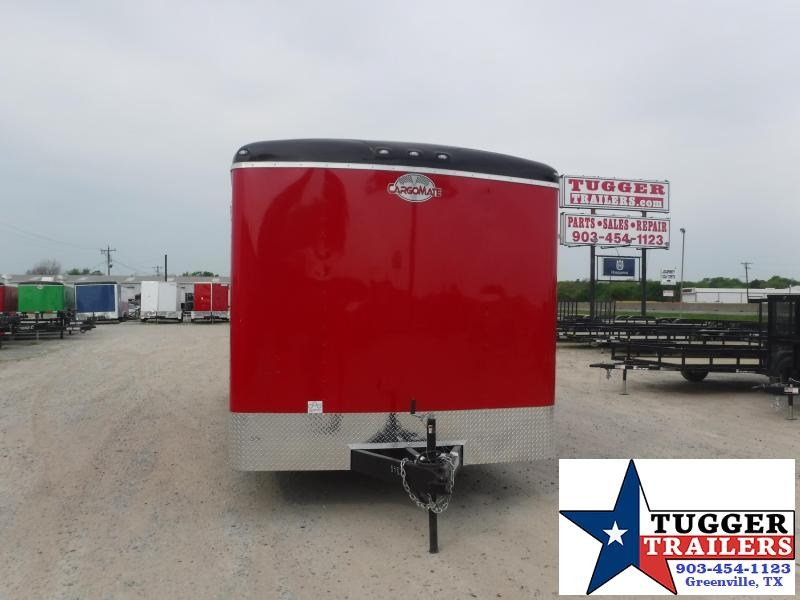 2021 Cargo Mate 8.5x22 22ft Porch BBQ Taco Food Burger Grill Vending / Concession Trailer