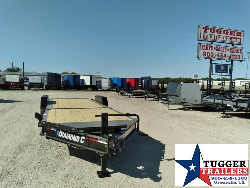 2021 Diamond C Trailers 82x24 24ft HDT Steel Tilt Heavy Duty Work Car Equipment Trailer