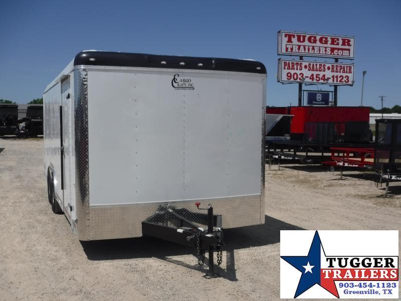 2020 Cargo Craft 8.5x20 20ft Auto Mobile Classic Hauler Cargo Car / Racing Trailer
