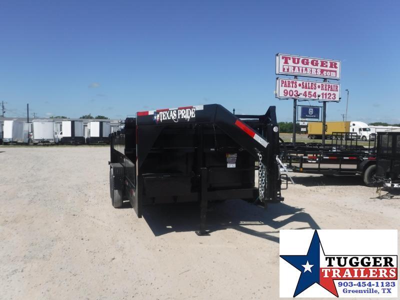2021 Texas Pride Trailers 7x14x3 Dump Trailer
