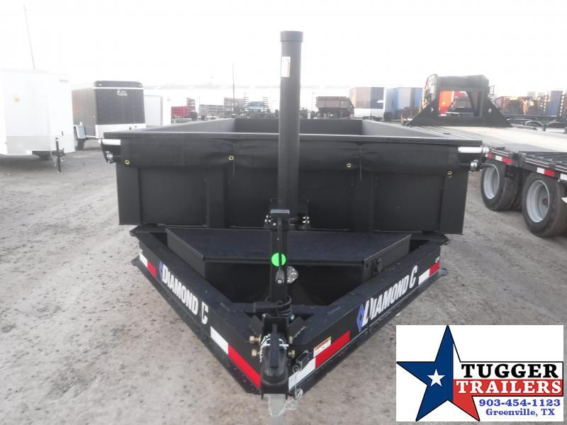 2021 Diamond C Trailers 82x16 16ft LPT Steel Heavy Duty Work Asphalt Rock Dump Trailer