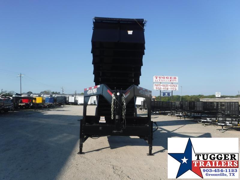 2022 Texas Pride Trailers 7x20x4 DT72021KGN Dump Trailer