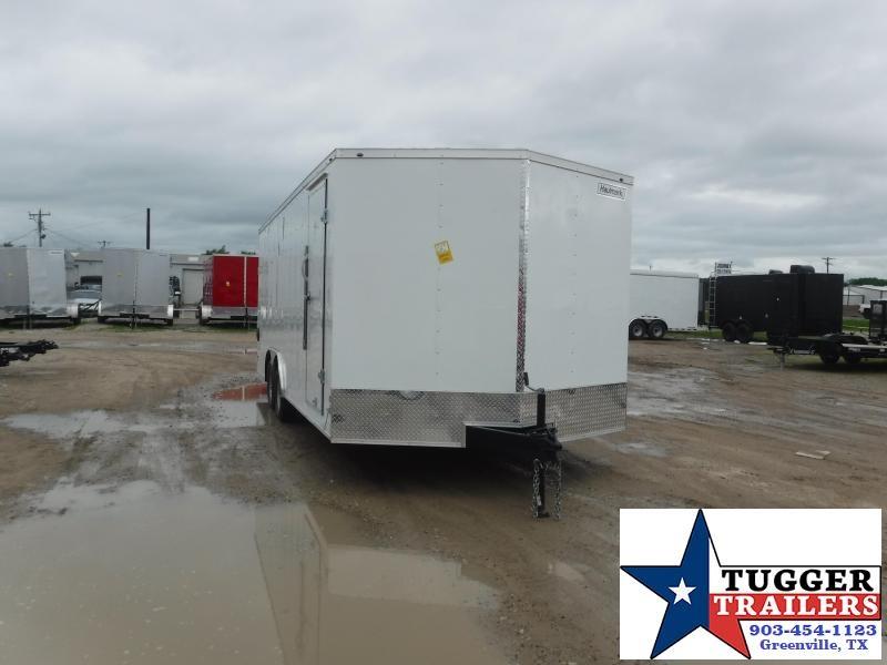 2021 Haulmark 8.5x20 20ft Utility Box Work Office Tool Side ATV Enclosed Cargo Trailer