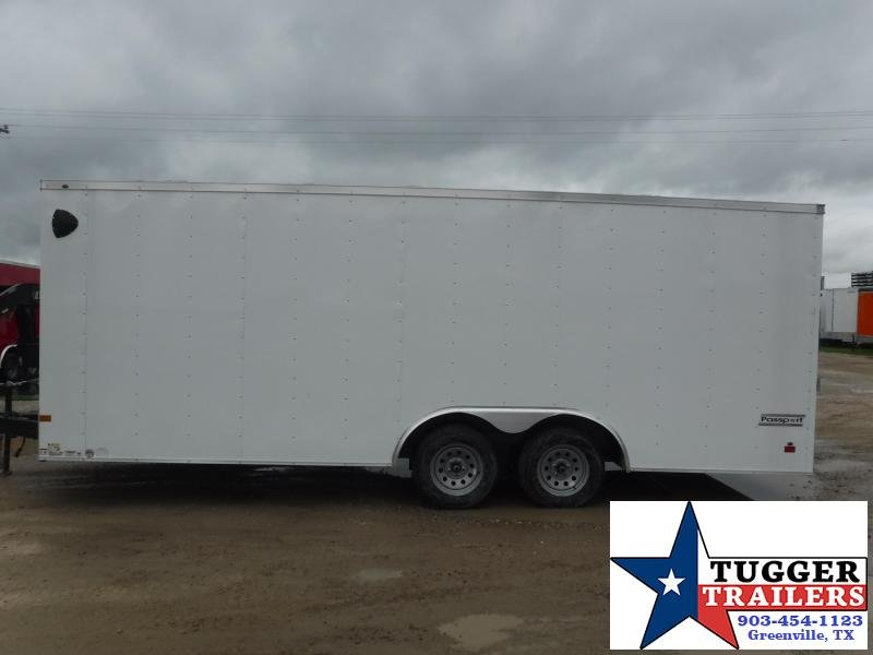 2021 Haulmark 8.5x20 20ft Utility Box Work Office Tool Side ATV Enclosed Cargo Trailer