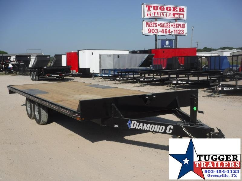 2020 Diamond C Trailers 102x20 20ft Deck Over Heavy Duty Steel Work Haul Equipment Trailer