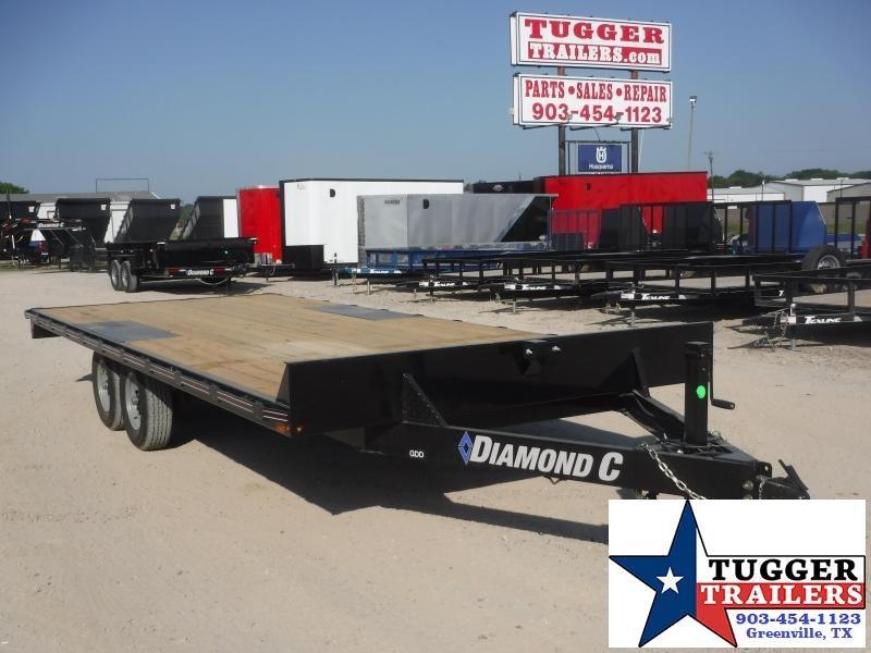 2020 Diamond C Trailers 102x20 20ft Deck Over Heavy Duty Steel Work Haul Equipment Trailer