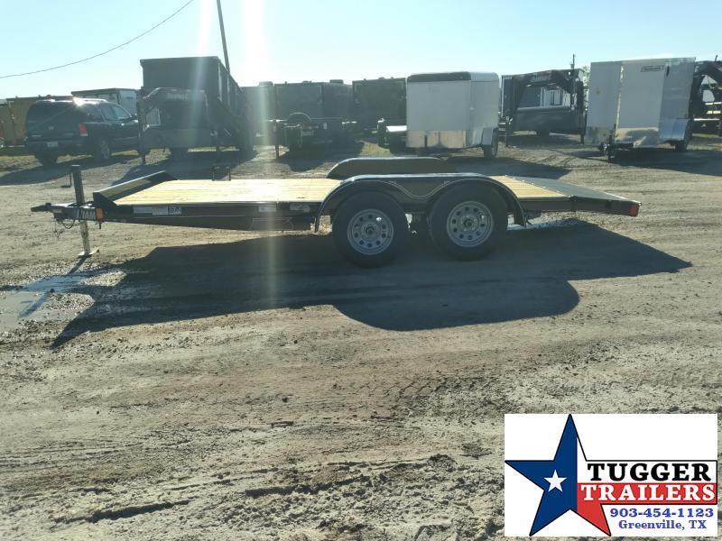 2021 Diamond C Trailers 16x83 GTF Tandem Flatbed Auto Toy Car / Racing Trailer
