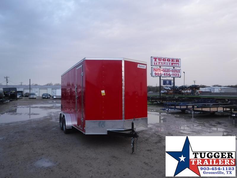 2021 Haulmark 7x16 16ft Utility Box Toy Side Work Mow Landscape Enclosed Cargo Trailer