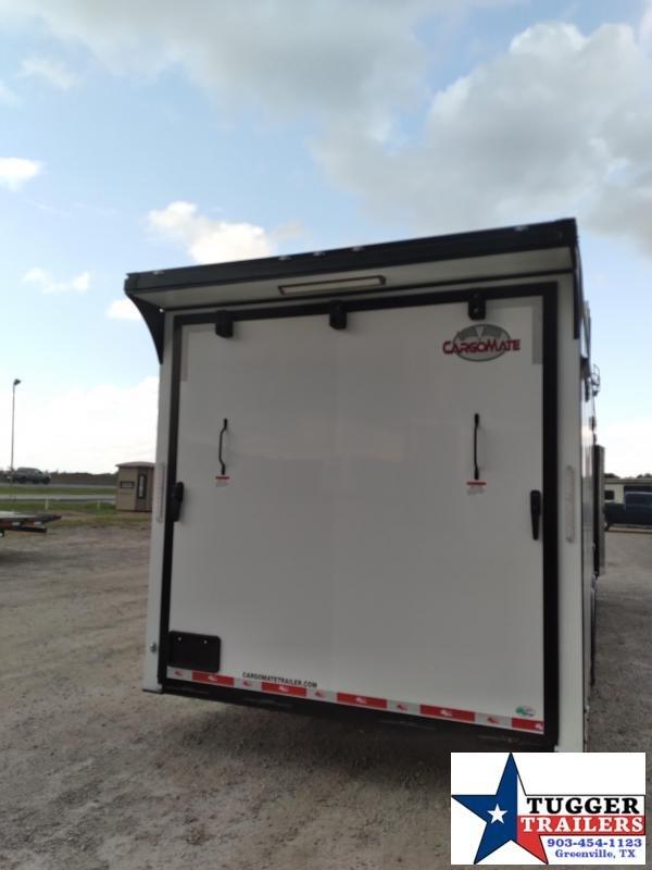 2021 Cargo Mate 8.5x28 28ft Eliminator Black Out Cargo Enclosed Car / Racing Trailer