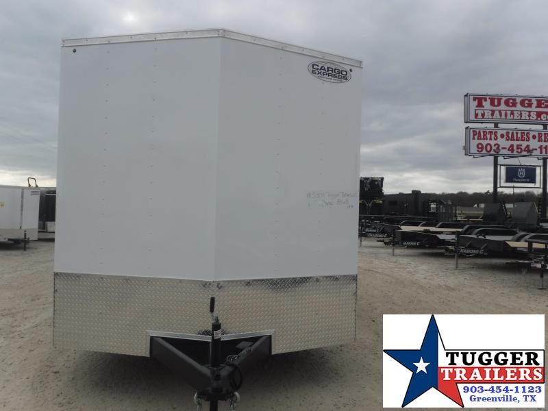 "2021 Cargo Express 8.5x18 18ft Plus 18"" V-Nose Cargo Enclosed Auto Car / Racing Trailer"