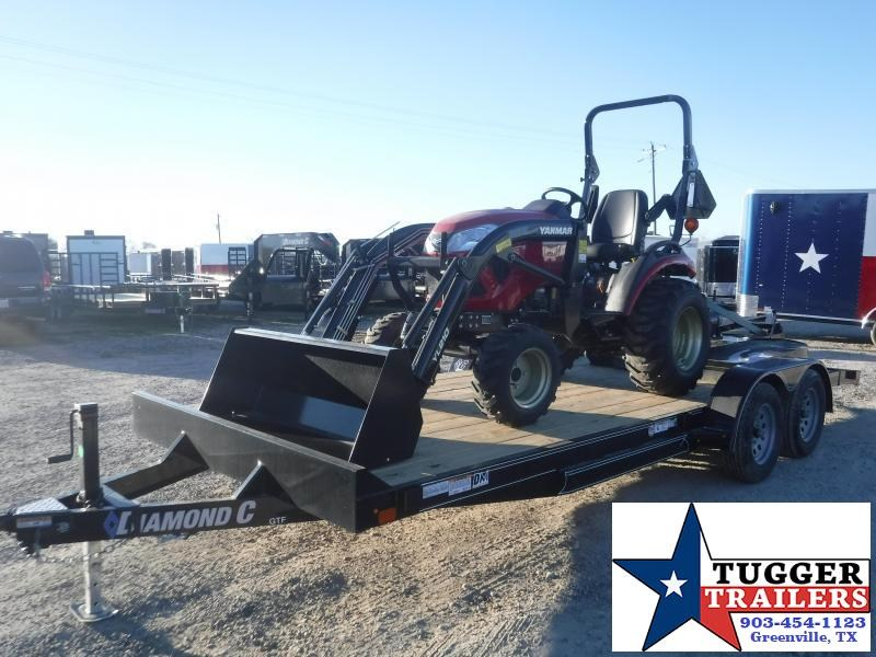 2021 Yanmar Tractor Bundle with Rotary Cutter & Box Blade & Trailer Utility Trailer