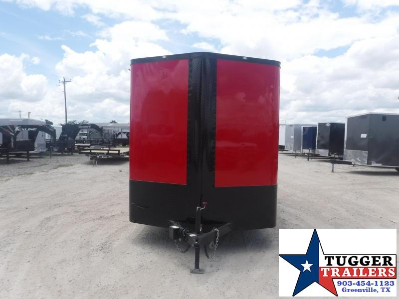 2020 Cargo Craft 7x14 14ft Black Out Utility Box Lawn Work Camp Enclosed Cargo Trailer