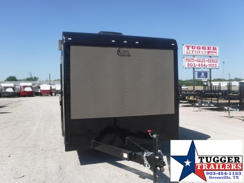 2020 Cargo Craft 8.5x20 20ft Spread Axle Black Out Cargo Enclosed Car / Racing Trailer