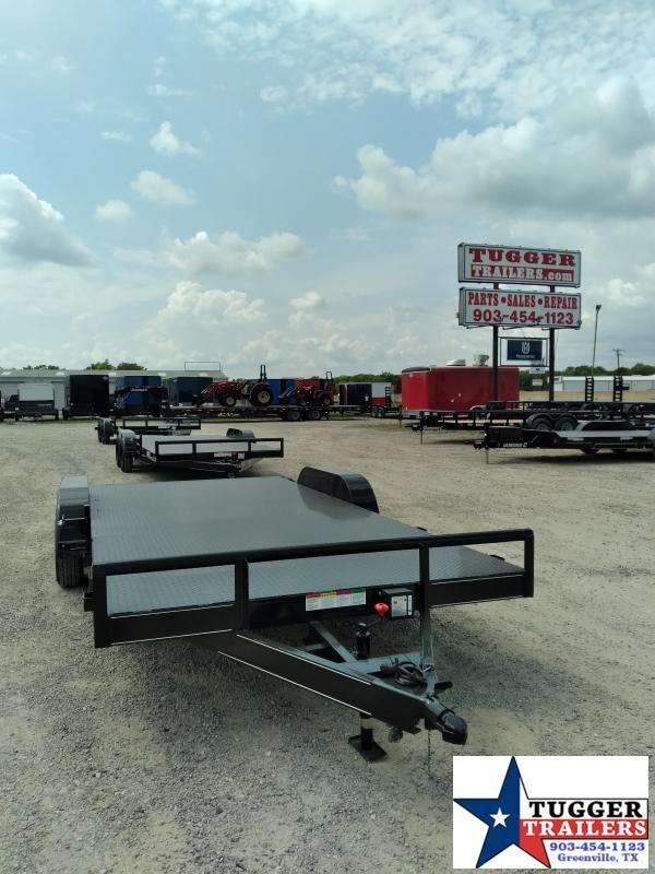 2020 Buck Dandy 83x18 18ft BCH Steel Heavy Duty Flatbed Utility Car / Racing Trailer
