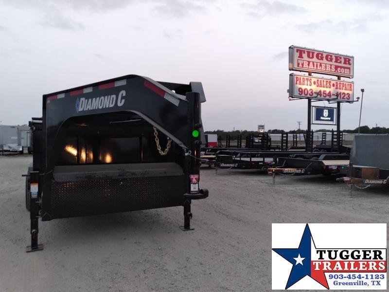 2021 Diamond C Trailers 82x14 14ft LPD Steel Heavy Duty Farm Construction Dump Trailer