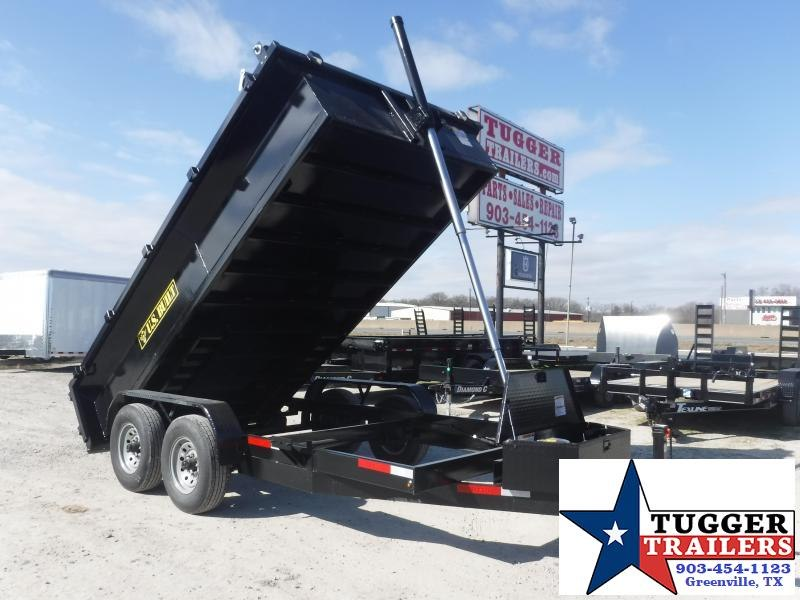 2021 Texas Pride Trailers 7x14 14ft Utility Work Construction Remodel Tool Dump Trailer