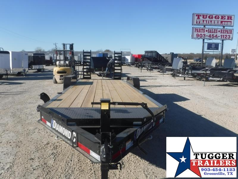 2021 Diamond C Trailers 82x24 24ft LPX Steel Heavy Duty Work Construction Equipment Trailer