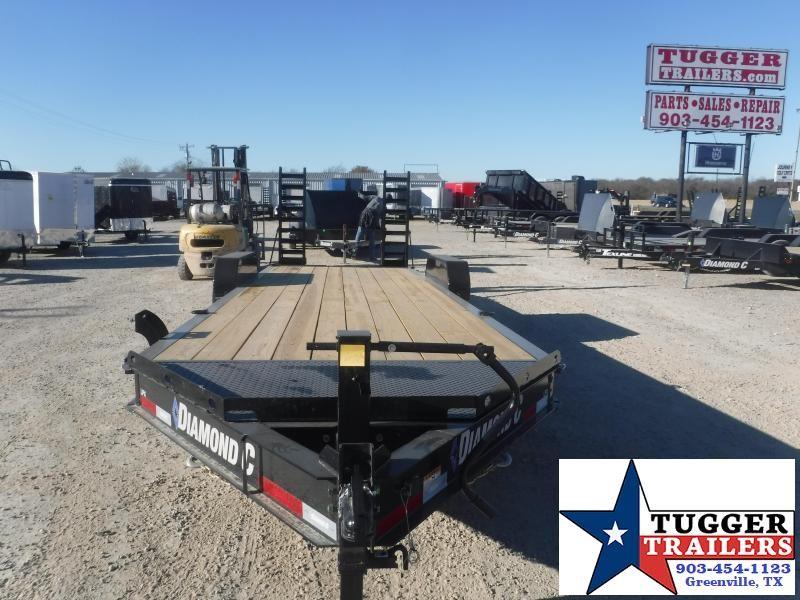 2021 Diamond C Trailers 82x24 24ft LPX Steel Heavy Duty Work Construction Equipment Trailer