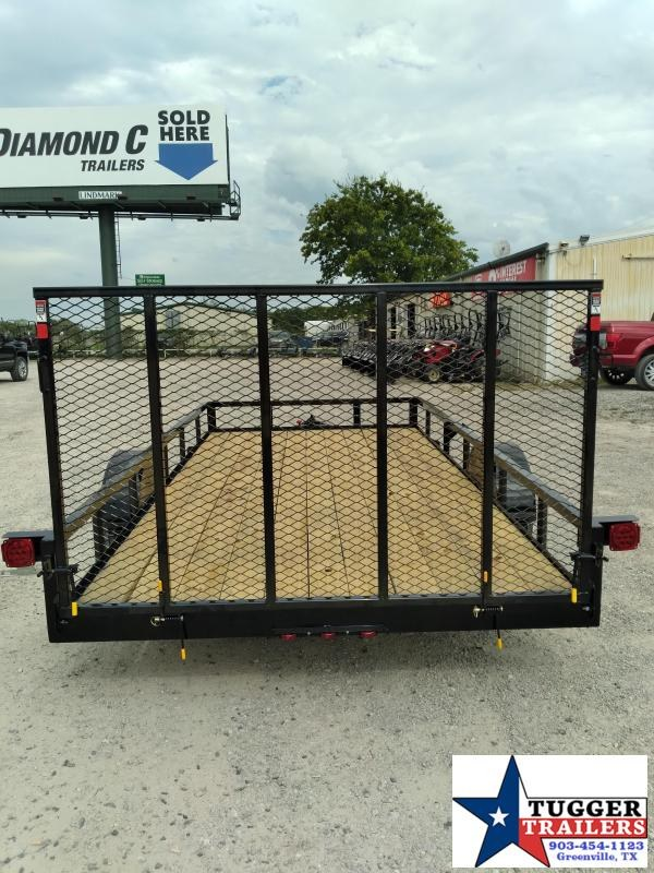 2020 Buck Dandy 83x14 14ft Flatbed Open Move Side Toy Equipment Utility Trailer