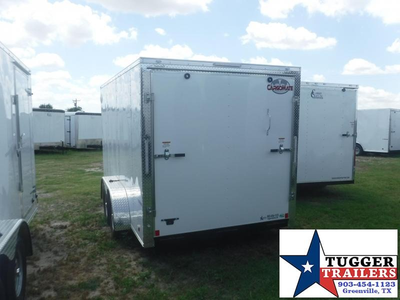2021 Cargo Mate 7x14 14ft E-Series Ramp Utility Sport Move Toy Enclosed Cargo Trailer