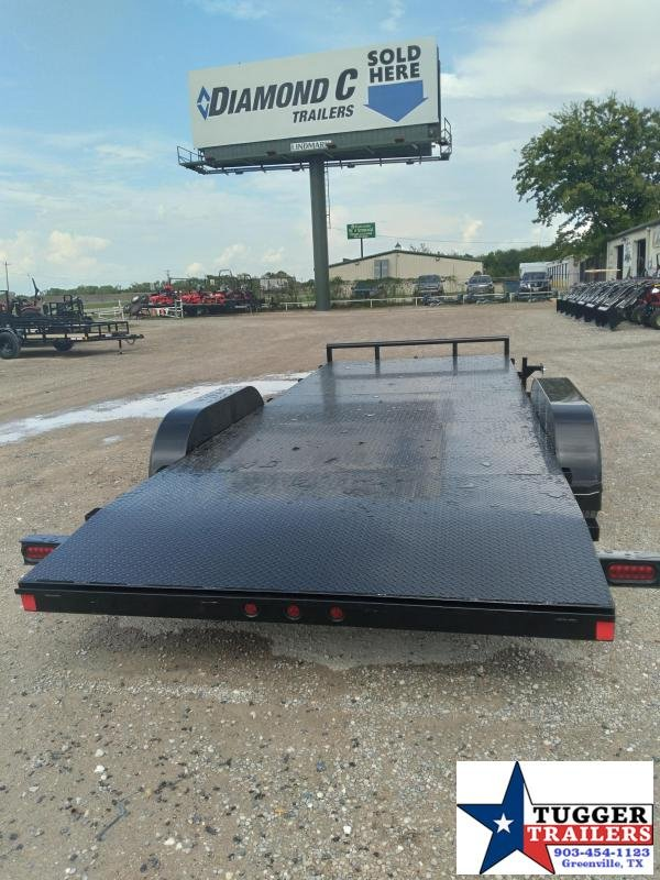 2020 Buck Dandy 83x20 20ft Auto Flatbed Open Utility Classic Toy Car / Racing Trailer