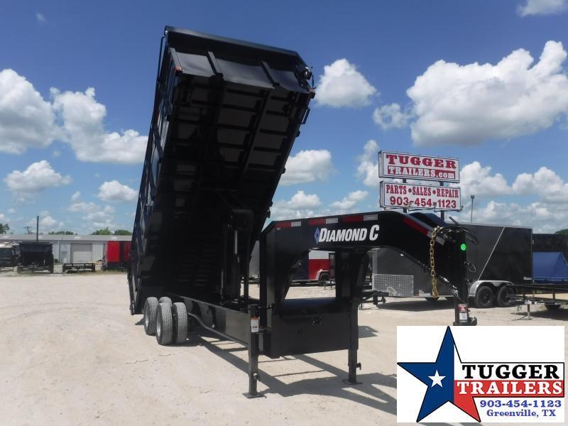 2020 Diamond C Trailers 96x20 20ft WDT Heavy Duty Equipment Construction Dump Trailer