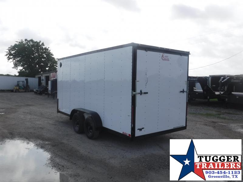 2020 Cargo Craft 7x16 16ft Black Out Box Utility Sport Travel Toy Enclosed Cargo Trailer