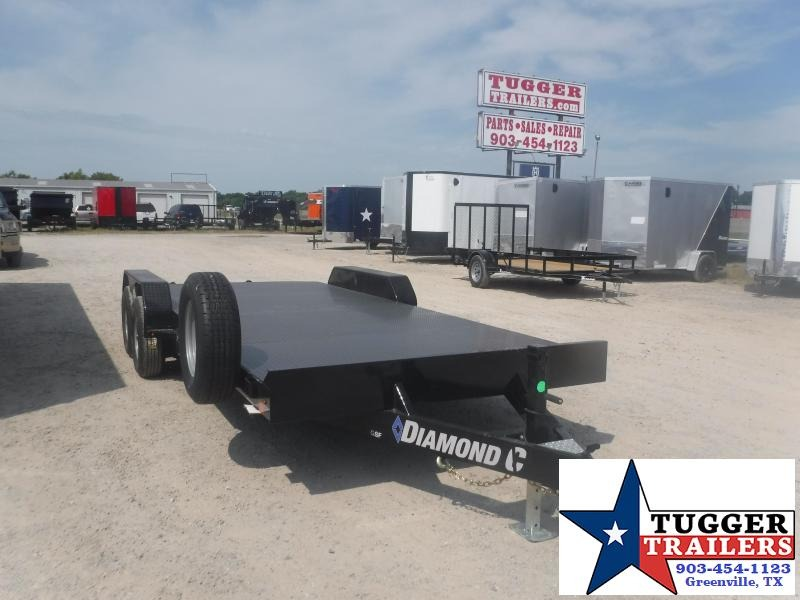 2020 Diamond C Trailers 83x20 20ft Steel Mobile Auto Classic Open Flatbed Car / Racing Trailer