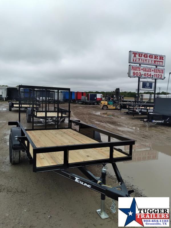 2020 TexLine 5x10 10ft Landscape Small Farm Personal Flatbed Utility Trailer