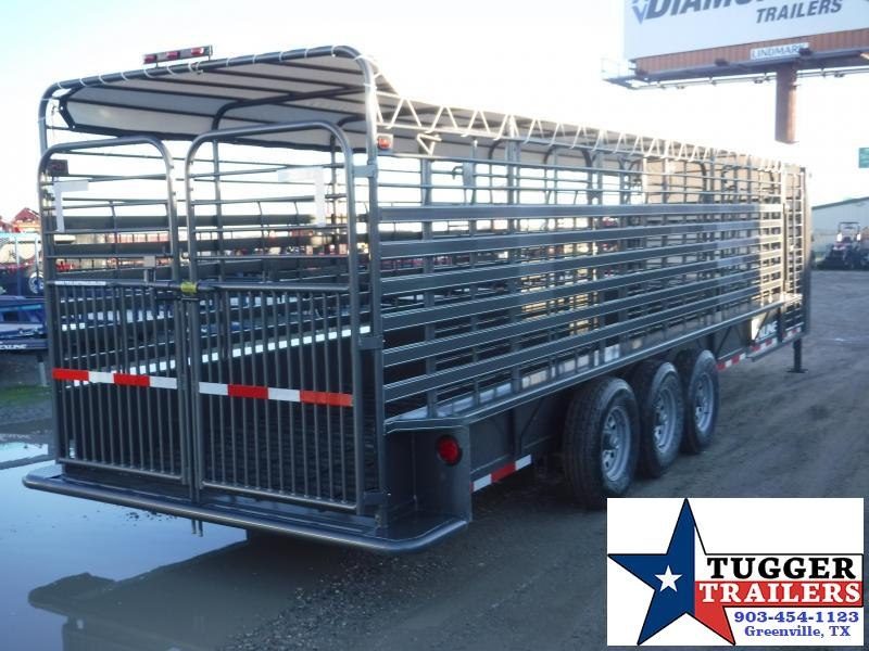 2020 TexLine 80x28 28ft Gooseneck Horse Farm Animal Cow Truck Boxes (Livestock and Dog)
