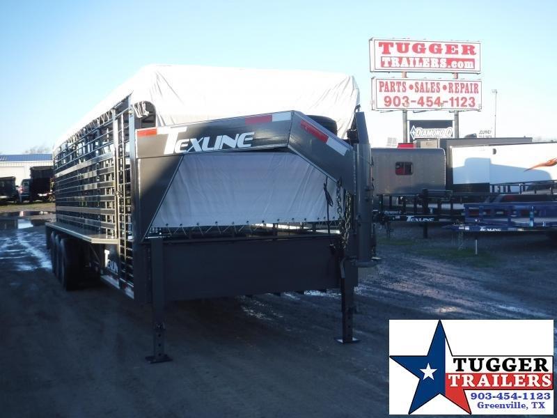 2020 TexLine 80x28 28ft Gooseneck Horse Farm Animal Cow Truck Boxes (Livestock and Dog)