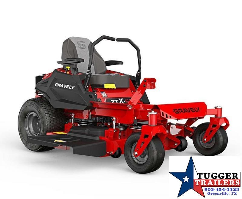 2020 Gravely ZTX 52 Zero Turn Landscape Residential Lawn Mowers