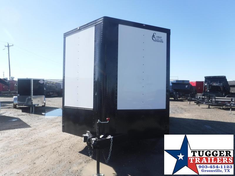 2021 Cargo Craft 8.5x20 20ft Plus 3' V-Nose Black Out Cargo Auto Car / Racing Trailer