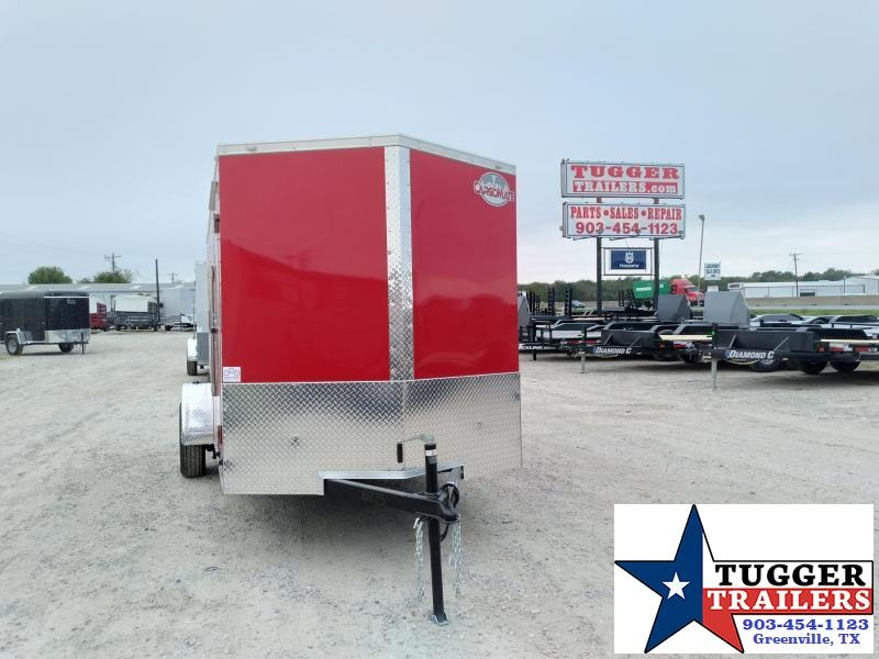 2021 Cargo Mate 6x12 12ft E-V Ramp Utility Bike Sport Travel Move Enclosed Cargo Trailer