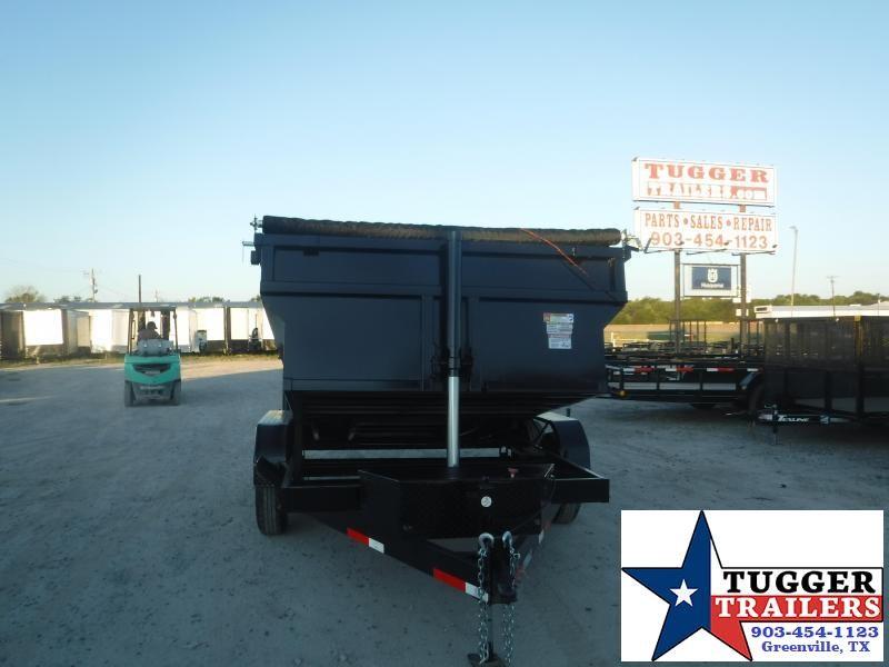 2021 Texas Pride Trailers 7x12x3 Dump Trailer