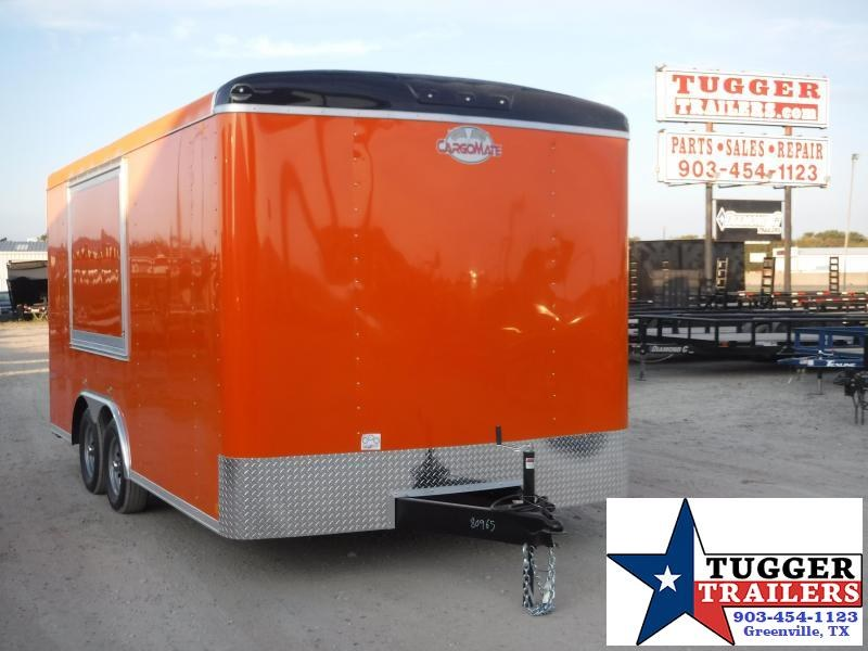 2020 Cargo Mate 8.5x16 16ft Food Street Taco BBQ Vending / Concession Trailer